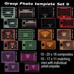 group photo templates